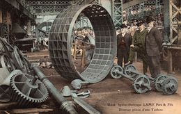 Usine Hydro-Electrique LAMY Père & Fils - Diverses Pièces D'une Turbine - France