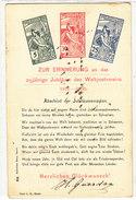 25-jähriges Jubiläum Des Weltpostvereins - UPU-Frankatur - Stempel 1.1.1901   (P-75-11017/2) - Briefmarken (Abbildungen)