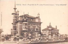 59-ASCQ- NORD- PROPRIETE DE Mr JULES FOURMESTRAUX - VILLA NADINE - Andere Gemeenten