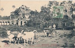 ANGKOR-VAT - N° 1740 - CHAUSSEE CONDUISANT A LA TOUR CENTRALE DE L'ENCEINTE ??? - Cambodge