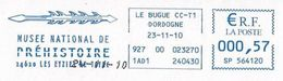 (MS) France, Les Eyzies De Tayac (2010) : Harpon, Pêche / Harpoon Fishing. Préhistoire / Prehistory. EMA SATAS Meter. - Preistoria