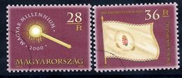 HUNGARY 2001 Millennium V With Specimen / Muster Cancellation MNH / **.  Michel 4579 II - 4657 - Hungary