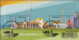 Nederland/Luxemburg - 25 Augustus 2017 - 3 Velletjes Multilaterale Hertogpost - Speciale Afstempeling - Gezamelijke Uitgaven