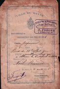 VILLE DU HAVRE ECOLE Rue De PHALSBOURG , J.FREGER Directeur En 1896 - Europe