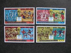 Comores: TB Serie N° 241 Au N°244, Neufs XX. - Comores (1975-...)