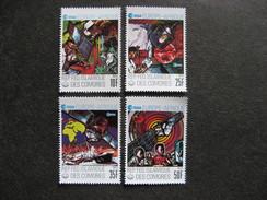 A). Comores: TB Serie N° 249 Au N°252, Neufs XX. - Comores (1975-...)