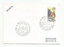 ITALIE OBLITERATION VISITE PAPE JEAN PAUL II à LORETO 1985 - Affrancature Meccaniche Rosse (EMA)