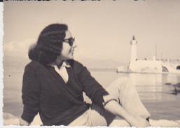 FOTO CAPE D'ANTIBES 1960 CM 7X10 - Persone Anonimi