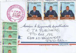 DRC Congo 2011 Kinshasa President Kabila 195f 350f Cover - Democratische Republiek Congo (1997 - ...)