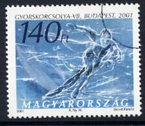 HUNGARY 2001 Skating Championships With Specimen / Muster Cancellation MNH / **.  Michel 4655 - Hungary