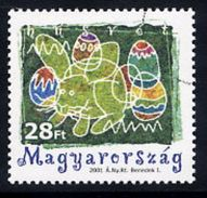 HUNGARY 2001 Easter. With Specimen / Muster Cancellation MNH / **.  Michel 4656 - Hungary