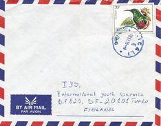 Rwanda 1992 Kigali Sunbird Cover - 1990-99: Afgestempeld