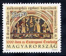 HUNGARY 2001 Esztergom Archbishopric With Specimen / Muster Cancellation MNH / **.  Michel 4668 - Hungary