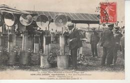 Les Lampes Phares Wakefield Au Circuit De Dieppe 1908. - Dieppe