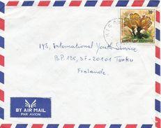 Rwanda 1983 Kigali Mushroom Podoscypha Elegans Cover - 1980-89: Afgestempeld