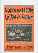 POLKA DES FLEURS Et LES JOYEUX TRILLES . Belle Présentation, Voiture Ancienne 60's Et Musiciens. CROIX DE MALTE - Partituren