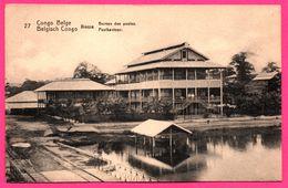 EP N° 27 - Série N° 43 - Congo Belge - Boma - Bureau Des Postes - 10 Cts Carmin Sur Carton Chamois - Interi Postali