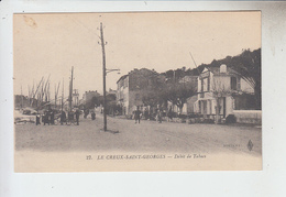 N°561   VAR.SAINT-MANDRIER  LE CREUX SAINT-GEORGES. CAFE.LE DEBIT DE TABACS N° 27 NOVELTA. - Saint-Mandrier-sur-Mer