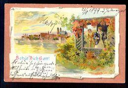 Behur Dich Gott / Kunstverlag Max Neumann / Year 1899 / Postcard Circulated, 2 Scans - Künstlerkarten