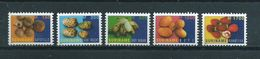 2001 Suriname Complete Set Fruits MNH/Postfris/Neuf Sans Charniere - Surinam