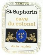 Rare // St.Saphorin, Cave Du Colonel, J P Testuz Treytorrens-Dézaley, Vaud // Suisse - Etiquettes