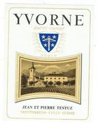 Rare // Yvorne, Haute Combe, J P Testuz Treytorrens-Dézaley, Vaud // Suisse - Etiquettes