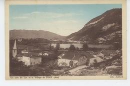 Un Coin Du Lac Et Le Village De PORT - Autres Communes