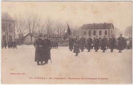 STENAY , 120 D' INFANTERIE , REMISE DES DECORATIONS PAR LE COLONEL - Stenay