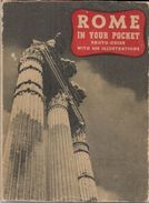 ROME In Your Pocket (Photo Guide) Avec 400 Illustrations - 1945. - Old Books