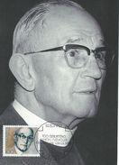 Gernany - Birth. Centenary Of Martin Niemmoller. (theologian).  Maximumcard.  # 07148 - Christianity