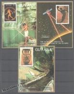 Guyana 1987 Michel 2061-63, Olympic Games - Blocks - MNH - Guyana (1966-...)