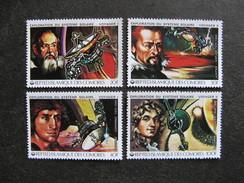 Comores:  TB Série N° 315 Au N°318, Neufs XX. - Comores (1975-...)