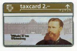 TK 27041 - SWITZERLAND - L&G Deutsche Kaiser Und Könige - Wilhelm II Von Würtemberg MINT! - Schweiz