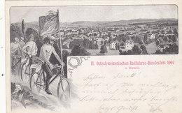 Uzwil - Ostschweiz.Radfahrer-Bundesfest 1904    (P-75-11021) - SG St-Gall