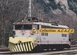 """Locos BB 8553 """"chasse-neige"""", Stationnée à Foix (09) - - Matériel"""