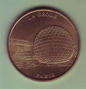 Médaille. Jeton Touristique - Monnaie De Paris - PARIS - La Géode - 2000 - - Monnaie De Paris