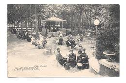 (16732-09) Aulus Les Bains - Le Parc Pendant Le Concert - Animée - Altri Comuni