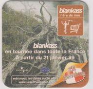 Sous Bock De Biere Commémoratif BLANKASS; Brasserie Kronenbourg  21/01/1999 - Sous-bocks