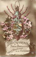 Guerre 1914-18- Ref L612- Insectes - Insecte - Toto Francais Porte Bonheur - Les Poux -le Pou   -carte Bon Etat  - - Guerre 1914-18
