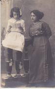 FOTO SORELLE RAGAZZE BANBINE 1920 CM 8X13 - Persone Anonimi