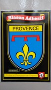 CPSM PROVENCE   BLASON ADHESIF ARMOIRIES KROMA  VILLES ET PROVINCES DE FRANCE - Fantasia
