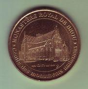 Médaille. Jeton Touristique - Monnaie De Paris - AIN - Monastère Royal De Brou - 2004 - - Monnaie De Paris