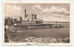 BARLETTA-ANDRIA-TRANI (0112) - TRANI Il Duomo Visto Dal Mare - Fp/Vg 1936 - Trani