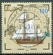 BRD Mi. 2022 Gest. Tag Der Briefmarke Postjacht Segelschiff TGST Bietigheim-Biss. - Usados