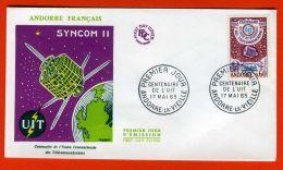 """ANDORRE ( F.D.C ) : Y&T  N°  173  """"PREMIER   JOUR  D EMISSION """" , 17  MAI  1965 , A  SAISIR . - FDC"""