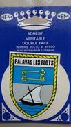 CPSM PALAVAS LES FLOTS HERAULT  BLASON ADHESIF DOUBLE FACE NEM ARMOIRIES - Fantasia