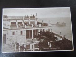 Postcard Leas Cliff Hall Ca. 1925 - Folkestone
