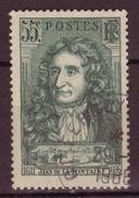 FRANCE - 1938 - YT N° 397 - Oblitéré - Jean De La Fontaine - France