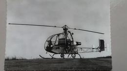 CPSM HELICOPTERE DANS LE CIEL DE FRANCE LE DJINN SO 1221 PI 1953 - Hubschrauber