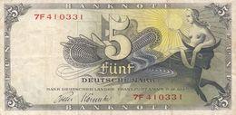 Billet Allemagne -  5 Deutsche Mark 9 - 12 - 1948 - 5 Mark